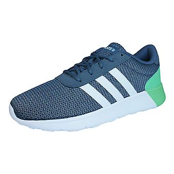 Adidas Neo Lite Racer Mens Running formateurs / chaussures - gris