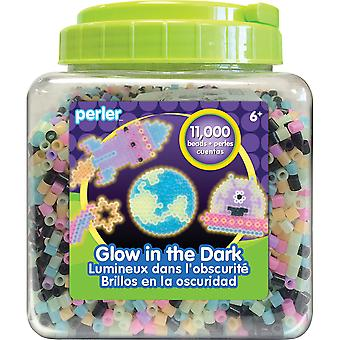 Perler Fused Beads 11,000/Pkg-Glow In The Dark 80-17015