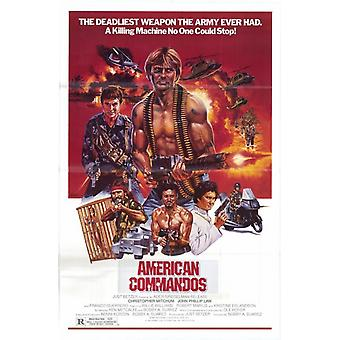 American Commandos Movie Poster (11 x 17)