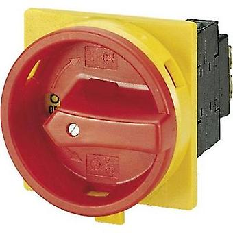 Limit switch lockable 25 A 690 V 1 x 90 ° Yellow, Red Eaton P1-25/EA/SVB 1 pc(s)
