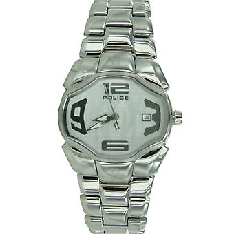Analog di polizia ladies watch orologio da polso in acciaio inox Angel PL12896BS / 04 M