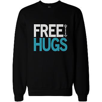 Funny Graphic Sweatshirts for the Holiday Free Hugs Sweatshirt