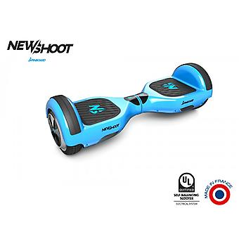 hoverboard spinboard © classic neon blue