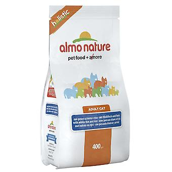 Almo Nature Holistic Cat Adult White Fish & Rice 400g