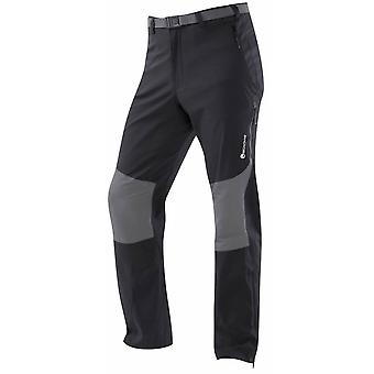 Montane Herre Terra Stretch Pants regelmæssig ben sort (Medium)