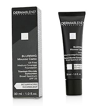 Dermablend sløring Mousee Camo olie gratis Foundation SPF 25 (Medium dækning) - #65W Amber 30ml/1 ounce