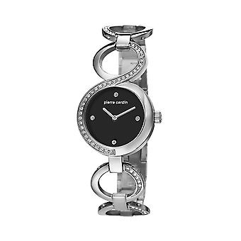 Pierre Cardin ladies watch wristwatch JOLIETTE silver PC106602F01