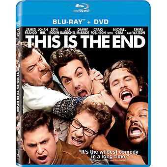 This Is the End [BLU-RAY] USA import
