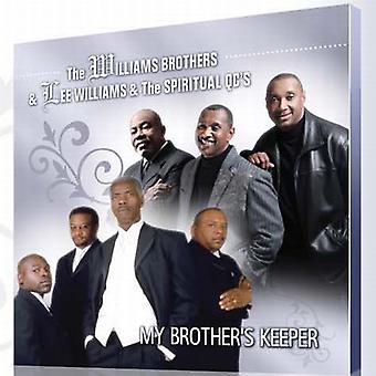 Williams brødre & Lee Williams & åndelige Q - My Brother's Keeper [CD] USA importerer