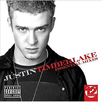 Justin Timberlake - importación de Estados Unidos mezcla esencial [CD]