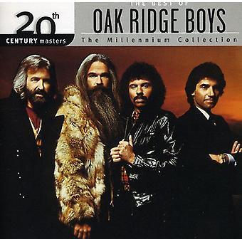 Oak Ridge Boys - Millennium samling-20th århundrede skibsførere [CD] USA importerer