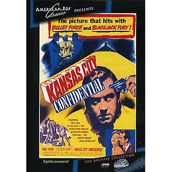 Kansas City Confidential (1952) [DVD] USA import