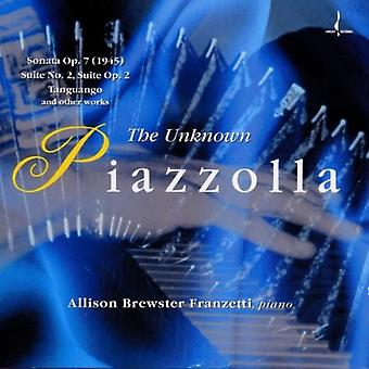 A. Piazzolla - Unknown Piazzolla [CD] USA import
