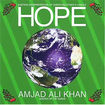Amjad Ali Khan - Hope - Eastern Interpretations of Christmas Hymns [CD] USA import