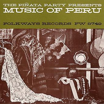 Musik af Peru - musik af Peru [CD] USA importerer