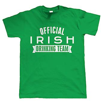 Vectorbomb, Official Irish Drinking Team, Funny Mens St Patricks Day T Shirt (S to 5XL)