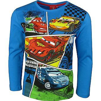 Boys Disney Cars Lightning McQueen Long Sleeve Top / HO1098