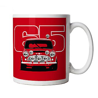 Vectorbomb, Classic Cooper S 65, Rally Car Mug