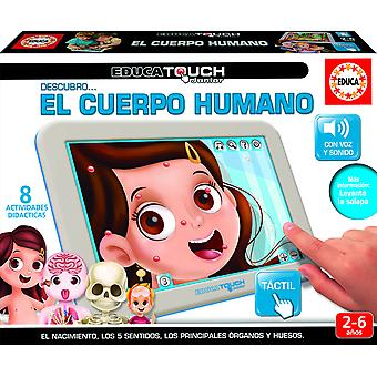 Educa touch Tablet El Cuerpo Humano2-6Año (Toys , Educative And Creative , Electronics)