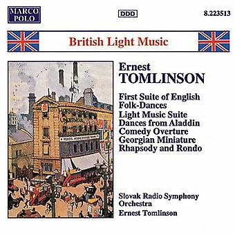 E. Tomlinson - britiske lys musik [CD] USA import