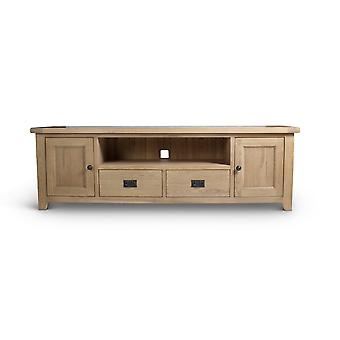 Direct Home Living Natural Oak Plasma Tv Unit