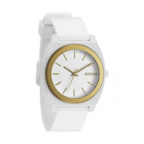 Nixon The Time Teller P - White/Gold Ano