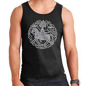 Odin Norse Viking Symbols Men's Vest