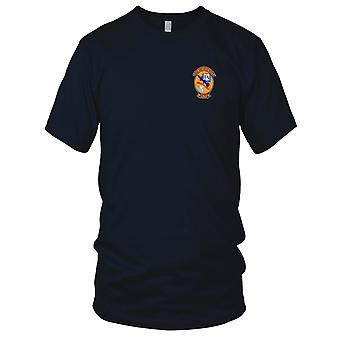 US Navy Guided Missiles School Dam Neck Virginia Embroidered Patch - Mens T Shirt