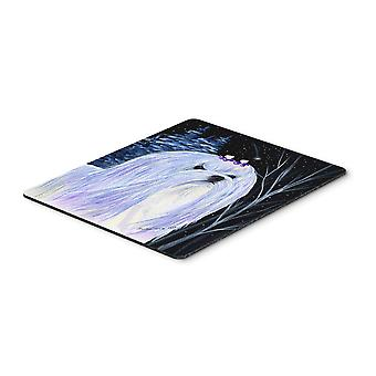 Carolines Treasures  SS8378MP Starry Night Maltese Mouse Pad / Hot Pad / Trivet