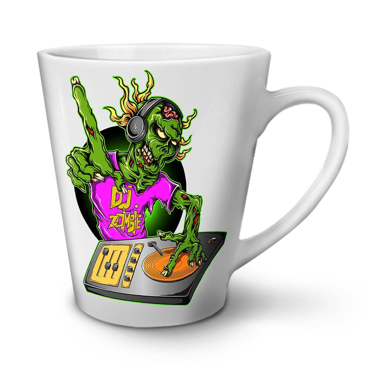 Blanche Zombie Café 12 Nouvelle Latte Mode Dj Céramique Tasse Musique De OzWellcoda En 1FJcT5ulK3