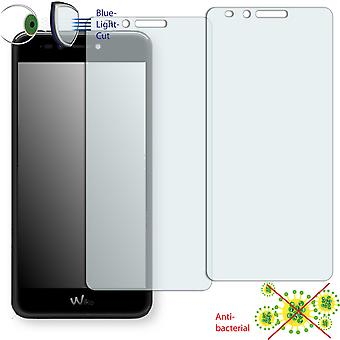 WIKO Upulse screen protector - Disagu ClearScreen protector (deliberately smaller than the display, as this is arched)