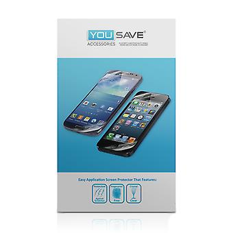 Yousave HTC One Mini Screen Protectors - 5 Pack
