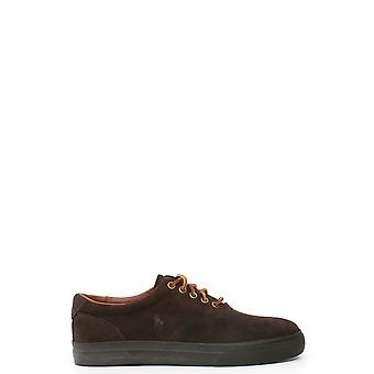 Ralph Lauren men's MCBI251026O brown suede of sneakers
