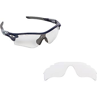 Vented Radarlock Path Replacement Lenses Crystal Clear by SEEK fits OAKLEY