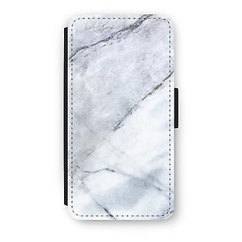 Huawei Ascend P10 Flip Case - blanco de mármol