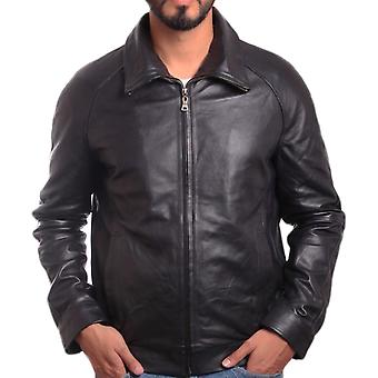 Daily Mens Leather Jacket