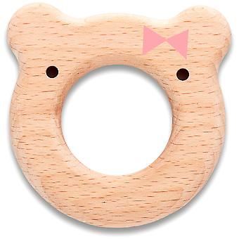 Suavinex Mordedor Madera Rosa (Childhood , Baby Accessories , Teethers )
