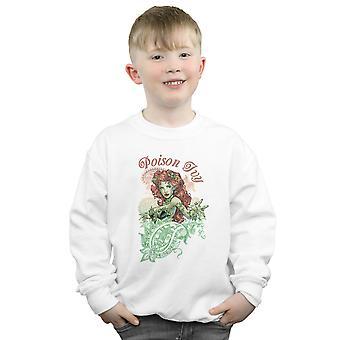 DC Comics garçons Poison Ivy Paisley Sweatshirt