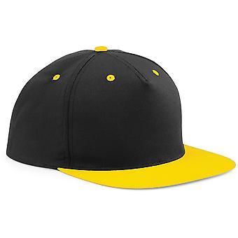 Beechfield Unisex 5 Panel Contrast Snapback Baseball Cap