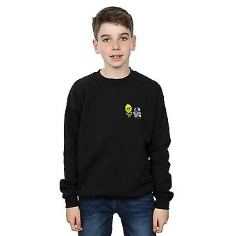 Star Wars Boys Resistance Droids Chest Print Sweatshirt