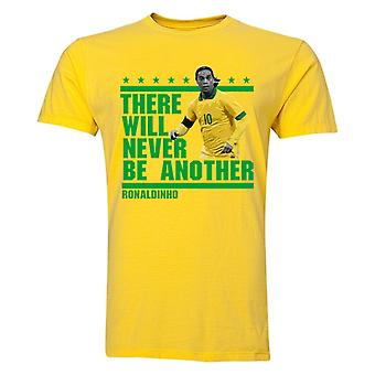 Ronaldinho There Will Be geen andere T-Shirt (geel)
