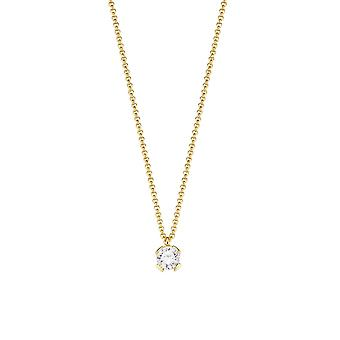 ESPRIT collection ladies chain necklace Silver Gold of Solaris ELNL92891B420