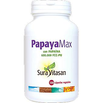 Sura Vitasan Papaya Plus 100 capsule (vitamine & integratori, Multinutrients)