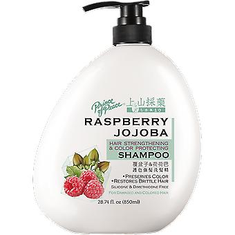 Tsaio Hair Strengthening & Color Protecting Shampoo With Raspberry And Jojoba, 850Ml