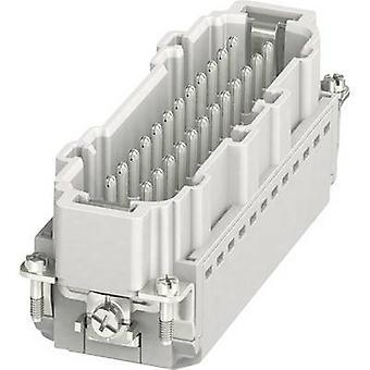 Pin inset HC-B 1407736 Phoenix Contact 24 + PE Plug & Clip 1 pc(s)