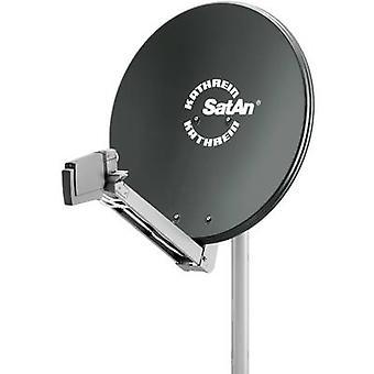 Kathrein CAS 80 SAT antenna 75 cm Reflective material: Aluminium Graphite