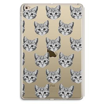 iPad Mini 4 Transparent Case (Soft) - Kitten