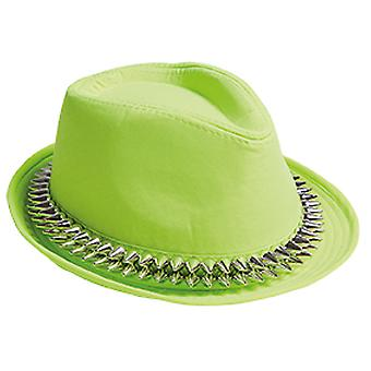 Fedora green spines