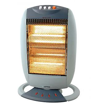 Lloytron F2106GR 1200W 3 Bar Small Halogen Heater - Grey