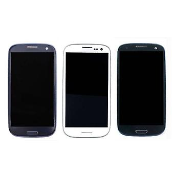 Stuff Certified ® Samsung Galaxy S3 I9300 screen (Touchscreen + LCD + Parts) A + Quality - Blue / Black / White